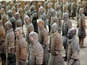 The Terracotta Warriors in China (photo by Kevin Poh/Flickr)