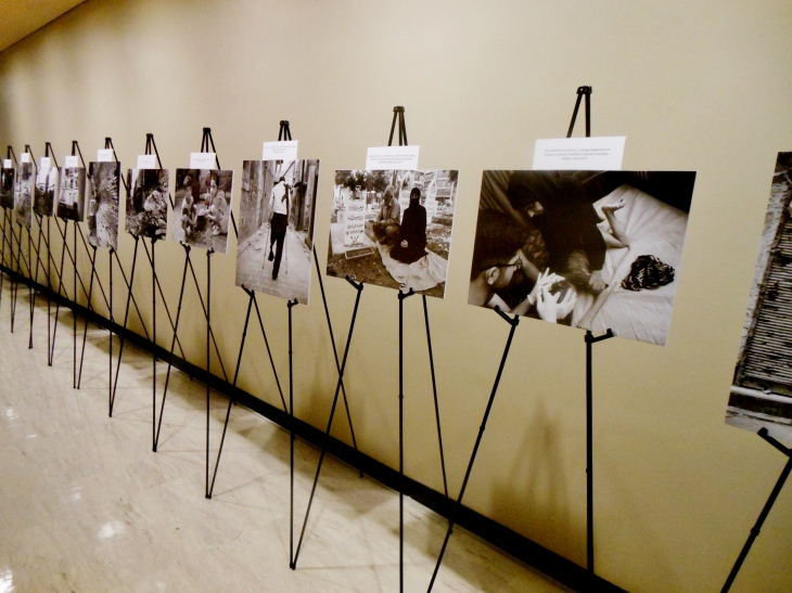 "Hagop Vanesian's exhibition, ""My Homeland,"" ran at the United Nations Headquarters from January 8-16."
