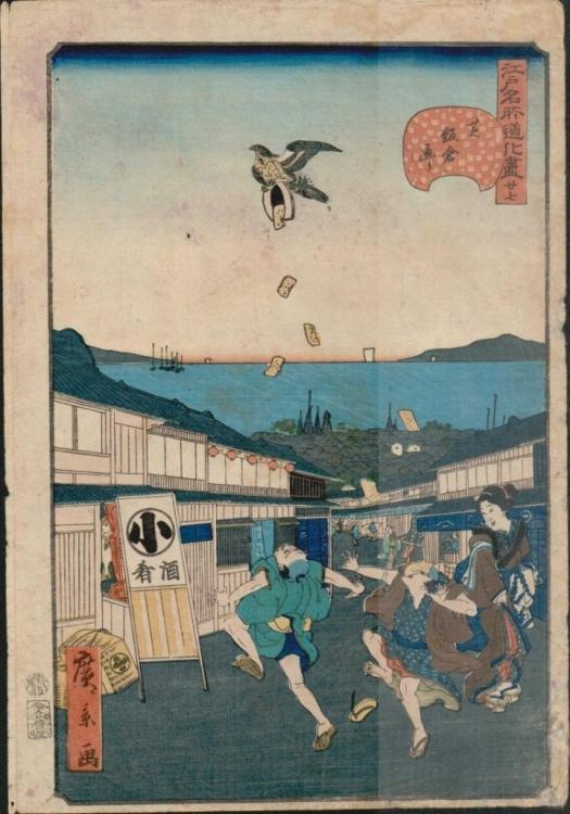 Utagawa-Hirokage-Bird-Drops-Gold-Coins-1860-720x1029.jpg