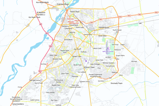 Lahore_Map